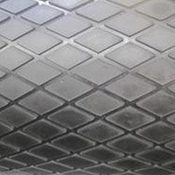 Diamond Groove Rubber Sheet Neoprene Rubber Sheet Shot